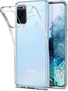 Spigen Liquid crystal compatible with Samsung Galaxy S20 Plus case, Transparent TPU Silicone Soft Phone case Protective ca...