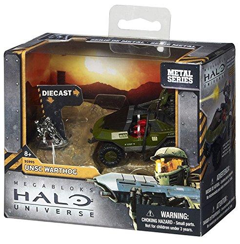 Mega Bloks Halo Metal Series Diecast UNSC Warthog