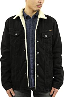 [ヌーディージーンズ] ジャケット メンズ 正規販売店 Nudie Jeans ワークジャケット LENNY WORK JACKET BLACK 160684 B01 (コード:4138876213)