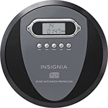 Insignia NS-P4112 Portable CD Player with Skip Protection for CD, CD-R, CD-RW –..