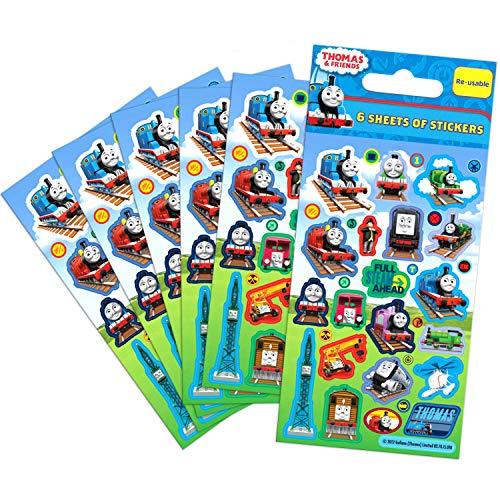 Party Bags 2 Go - Stickers Per Le Feste, 6 Fogli