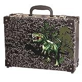 King REX - Dinosaurier- Spielzeugkoffer Spielkoffer Kofferl Kinderkoffer Kindergepäck - 49307-080 Schneiders Vienna
