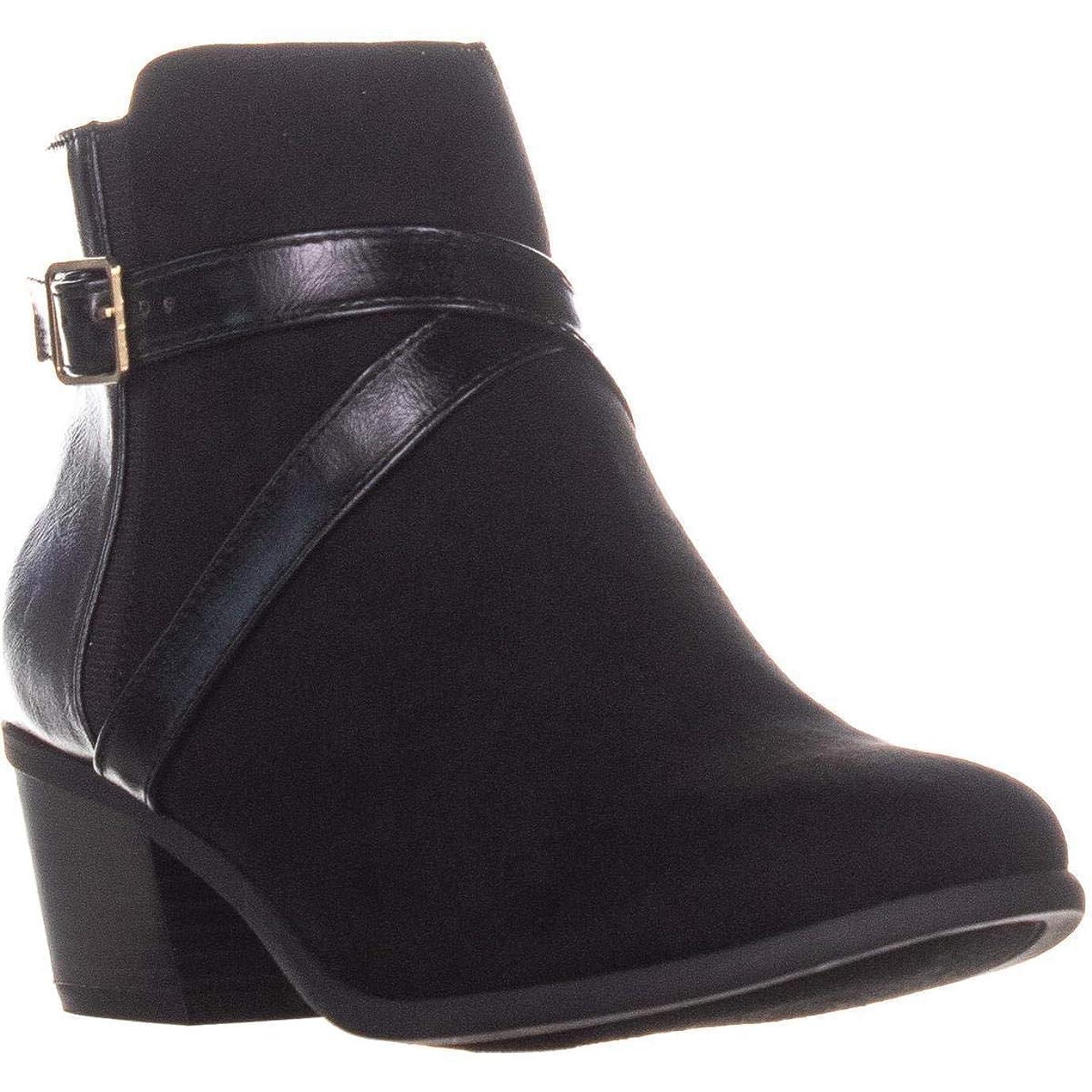 震え熟考する組み合わせる[Karen Scott] Womens Falonn Almond Toe Ankle Fashion Boots [並行輸入品]