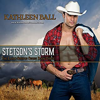 Stetson's Storm     Lasso Springs, Volume 3              Written by:                                                                                                                                 Kathleen Ball                               Narrated by:                                                                                                                                 Vicki Pierce                      Length: 8 hrs and 13 mins     Not rated yet     Overall 0.0