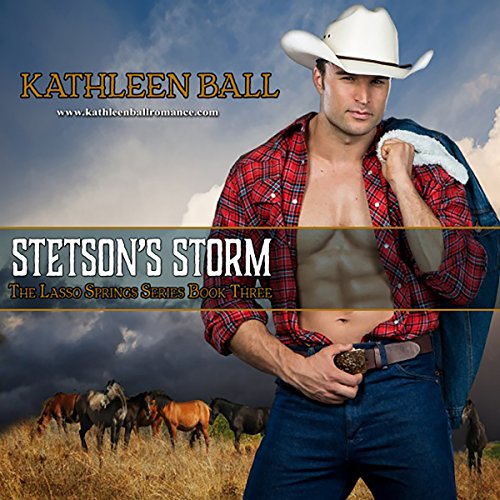 Stetson's Storm     Lasso Springs, Volume 3              By:                                                                                                                                 Kathleen Ball                               Narrated by:                                                                                                                                 Vicki Pierce                      Length: 8 hrs and 13 mins     1 rating     Overall 5.0