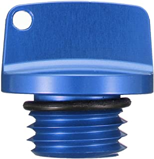 CNC Aluminium Öltankdeckel für Honda/Ducati/Yamaha/Kawasaki/Ninja/Triumph (blau)