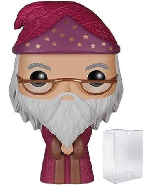 HARRY POTTER - Albus Dumbledore #04 Funko Pop! Vinyl Figure (Includes Compatible Pop Box Protector Case)