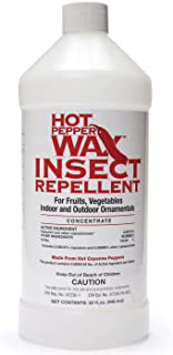Neptune's Harvest HPI132 Hot Pepper Wax Insect Repellent, 1-Quart
