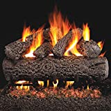Best Gas Fireplace Inserts - Peterson Real Fyre 24-inch Post Oak Log Set Review