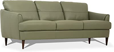 ACME Helena Sofa - - Moss Green Leather