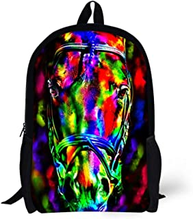 Kids Backpacks For School Cool Colorful Animal Trendy Personalized Bags- C0018C