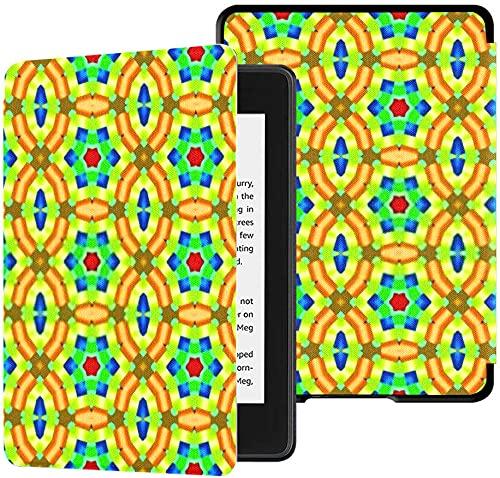 Custodia per il nuovissimo Kindle Paperwhite Cover in tessuto resistente all acqua (10a generazione, versione 2018), decorazione con motivi orientali Poster per desktop Wallpaper Custodia per tablet