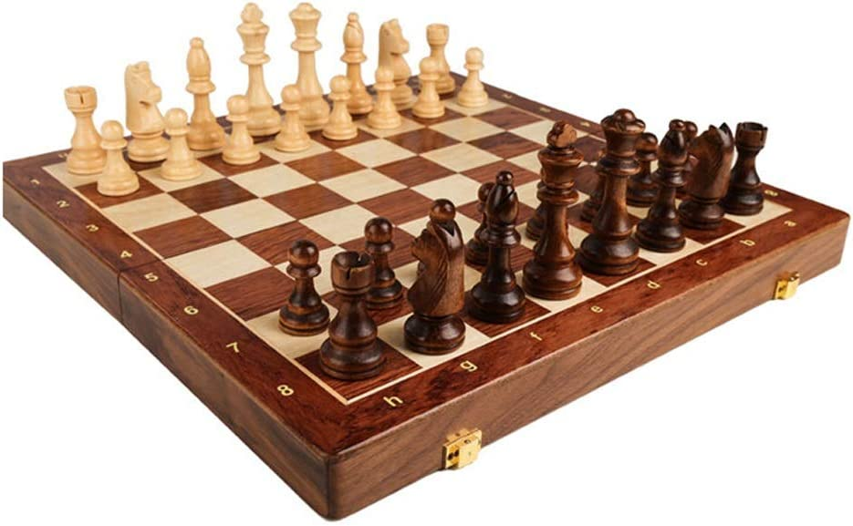 International Chess 2021 model Magnetic Wooden Set Luxury goods -2 E Folding Board