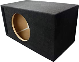 LAB SlapBox 2.00 ft^3 Ported/Vented MDF Sub Woofer Enclosure for Single Sundown Audio SA-12 (SA12) Car Subwoofer - 3/4