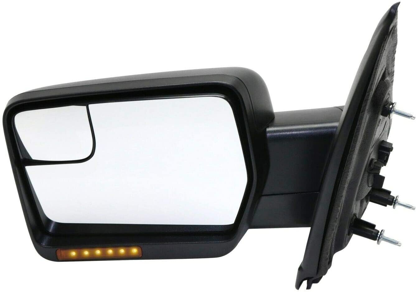 Puermto Bargain sale Mirror Heated Truck Left In-housing Side Turn Hand Signa Max 47% OFF