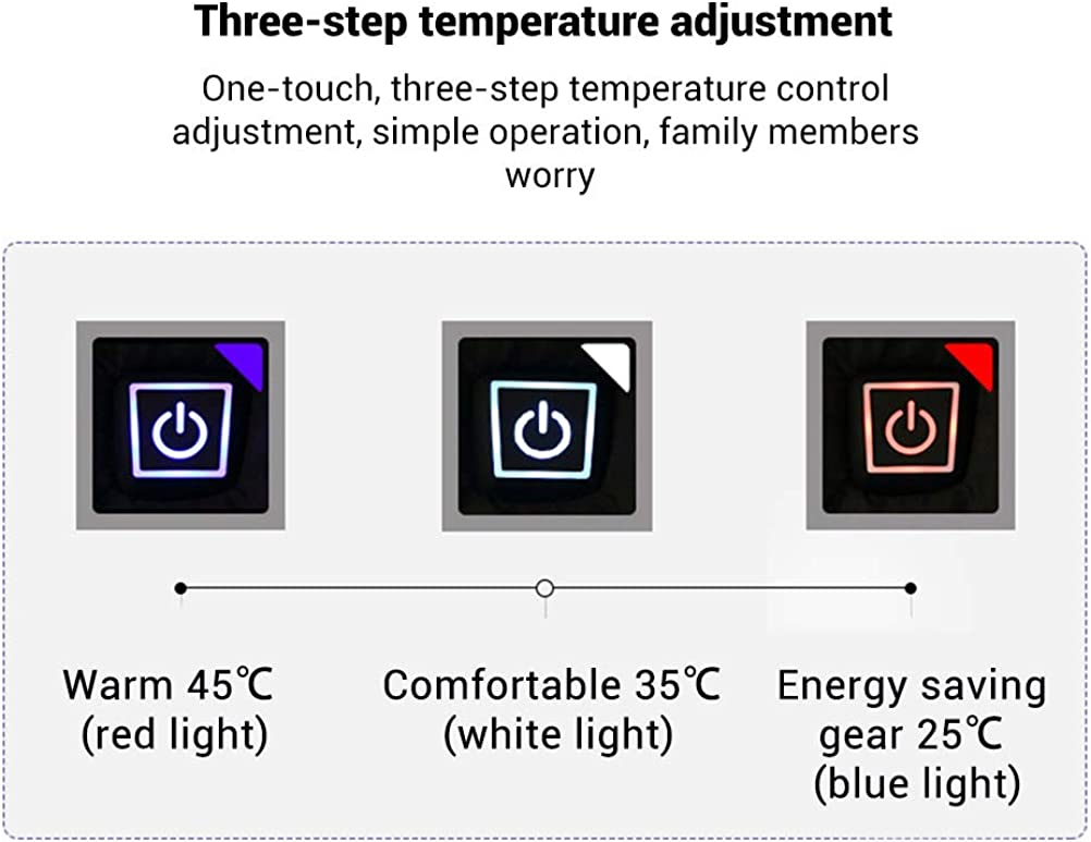 shenruifa Electric Heated Vest Intelligent Electric USB Charging Heated Vest for Men and Women Fall Winter Warm Clothes Adjustable Temperature Vest Jacket for Outdoor Motorcycle Skiing Hiking