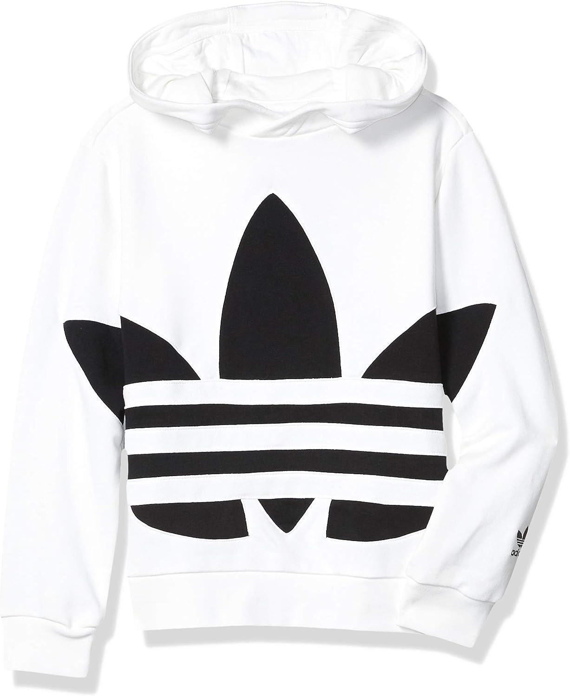 adidas Originals Kids' Big Trefoil Finally resale start Hoodie Sweatshirt Al sold out.