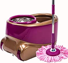 Mop,Household Mop 360 Degree Spinning Mop Bucket Rotating House Home Floor Cleaning