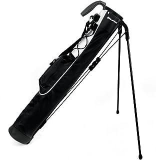 Knight Orlimar Pitch & Putt Golf Lightweight Stand Carry Bag, Black