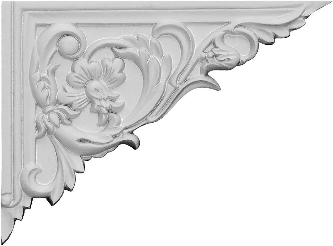 Ekena Max 65% OFF Millwork SB08X06FL-R All items free shipping Flower Stair 8 Bracket 5 Right 8