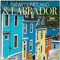 ニューファンドランド&ラブラドールカナダカレンダー 2021年バンドル デラックス2021ラブラドールミニカレンダー 100枚以上のカレンダーステッカー付き カナダギフト オフィス用品