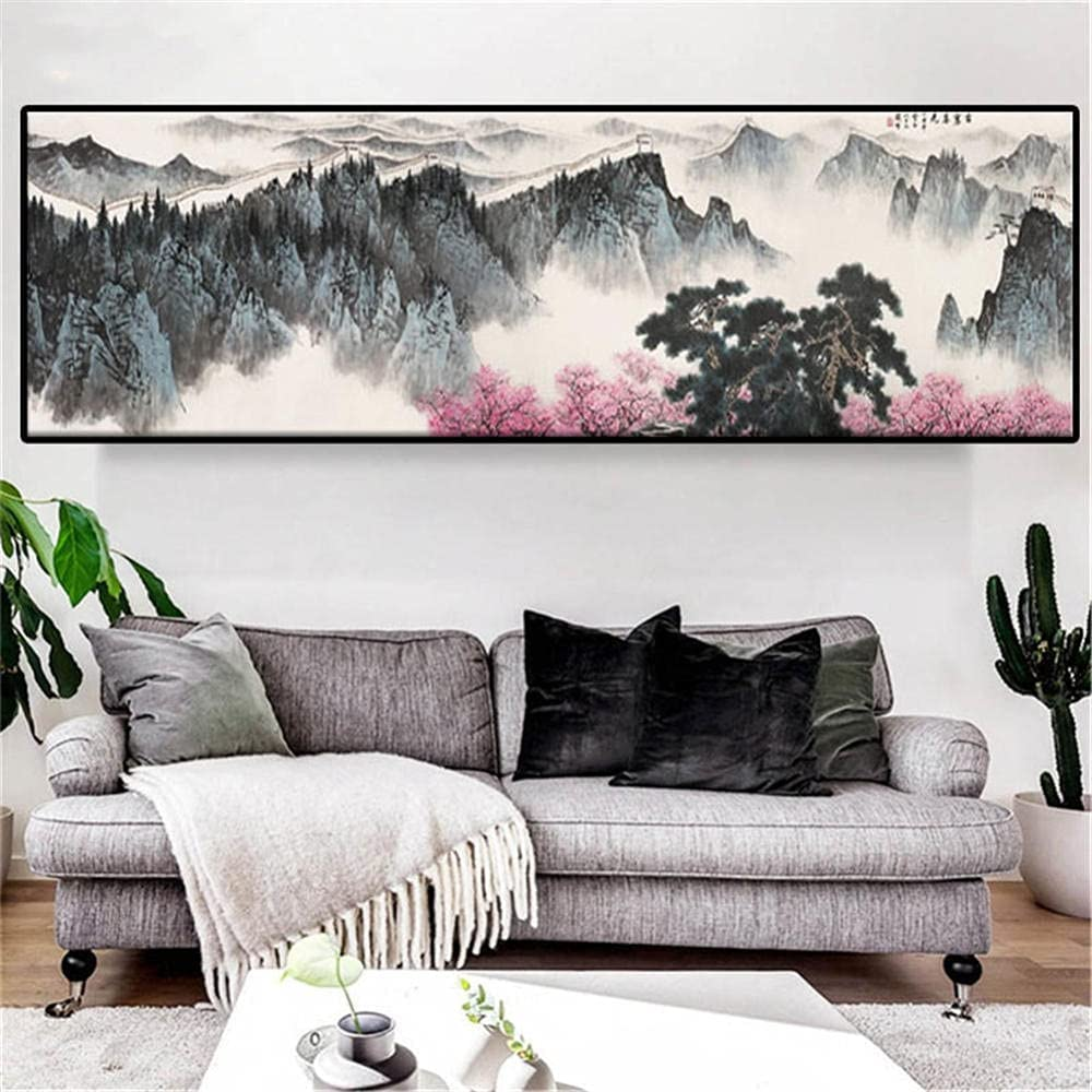 Diamond Painting Mountain River Surprise price Full Online limited product Large Kit
