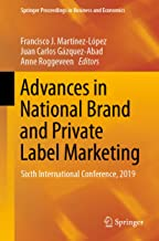Advances in National Brand and Private Label Marketing: Sixth International Conference, 2019 (Springer Proceedings in Business and Economics)
