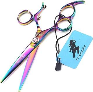 Professional Hair snijden schaar 6,0 inch Japan 440C roestvrij staal Set, hoge kwaliteit Multicolor Kapper Schaar voor Sal...