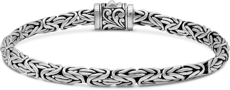 online shopping Sterling Silver 925 with Woven Tulang Dragon Bone Byzanti price Naga