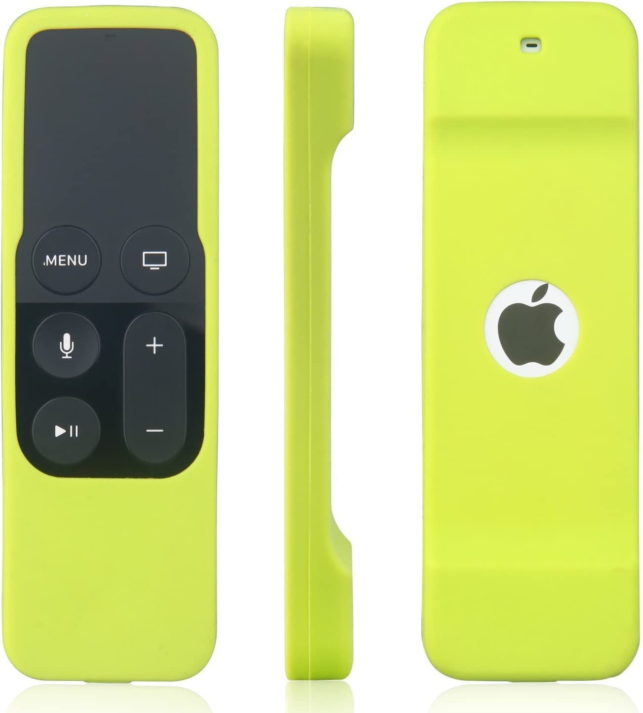 Remote Case Compatible with Apple TV 4K 5th / 4th Gen Remote, SYMOTOP Anti Slip Shock Proof Silicone Remote Cover Case Compatible with Apple TV 4K 4th 5th Generation Siri Remote Controller - Green