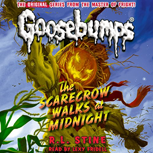Classic Goosebumps: The Scarecrow Walks at Midnight audiobook cover art