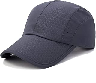 GADIEMENSS Soft Brim Lightweight Running Cap Waterproof Breathable