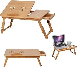 Mesa de ordenador ajustable y plegable, soporte ajustable
