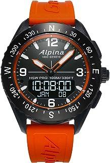 Alpina AL-283LBO5AQ6 Men's AlpinerX HSW Compass Smartwatch