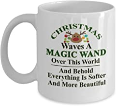 Christmas waves a magic wand over this world, and behold, everything is softer and more beautiful 11oz Best Coffee Mug – Christmas Inspirational/World