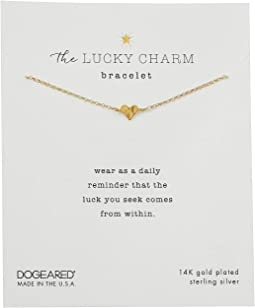 The Lucky Charm Bracelet, Heart Charm On Chain