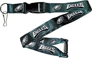 aminco NFL Philadelphia Eagles Team Lanyard, Green