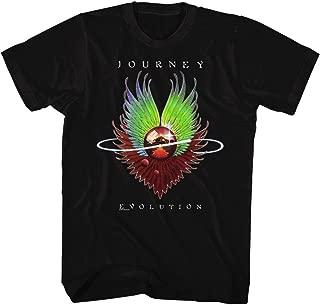 Journey Evolution Album Guitar Cover Rock Band Adult T-Shirt Tee Black