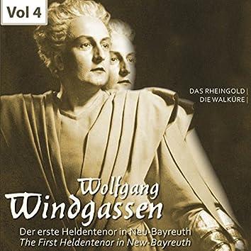 Der erste Heldentenor in Neu-Bayreuth - Wolfgang Windgassen, Vol. 4