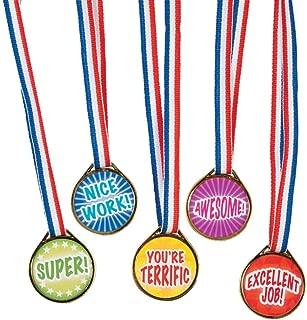 Award Medals Assortment ~ 50 Plastic 1.5