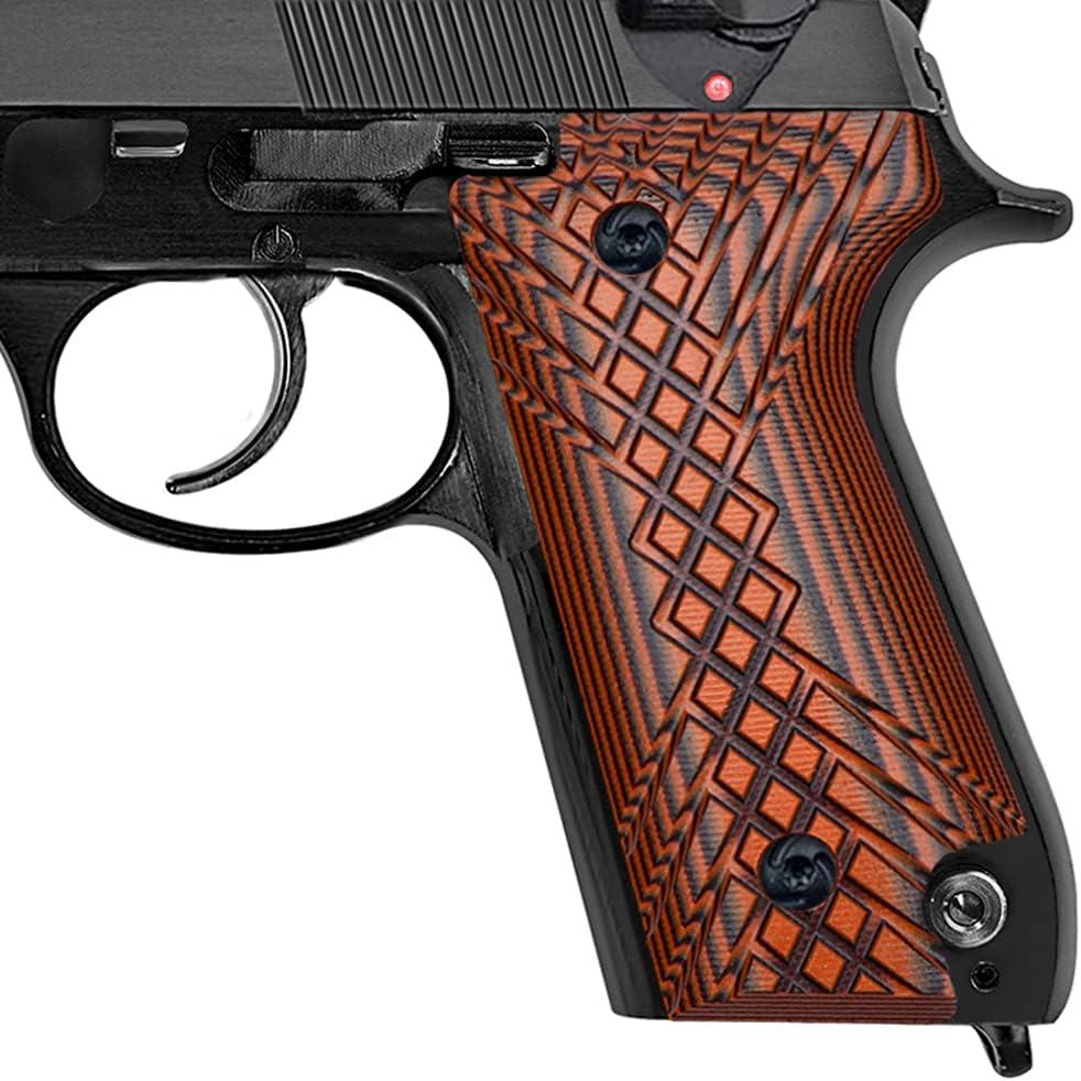 Guuun G10 Grips for Beretta Crosshatch 特価品コーナー☆ 公式 Texture 92S