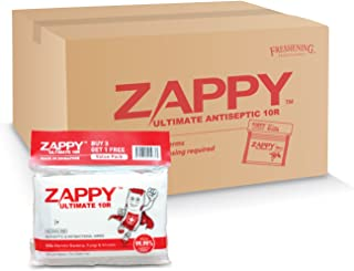 Zappy Ultimate Antiseptic 10R Wipes Value Pack, 10 ct (Pack of 48)