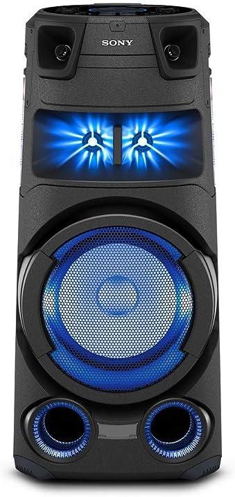 Sony mhc-v73d - altoparlante bluetooth all in one con jet bass booster, effetti luminosi, lettore cd, usb, MHCV73D.CEL