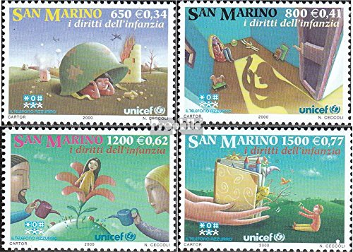 san Marin 1905-1908 (complète.Edition.) 2000 Droits de Kinde (Timbres pour Les collectionneurs)
