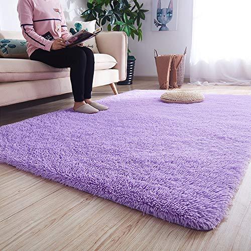Zhao Li Floor Covering springveren uitstekend 4 centimeter (ongeveer 1,6 inch met fluff) dikker vloerkleed zacht en duurzaam tafel gemakkelijk te reinigen kleur vast antislip tapijt
