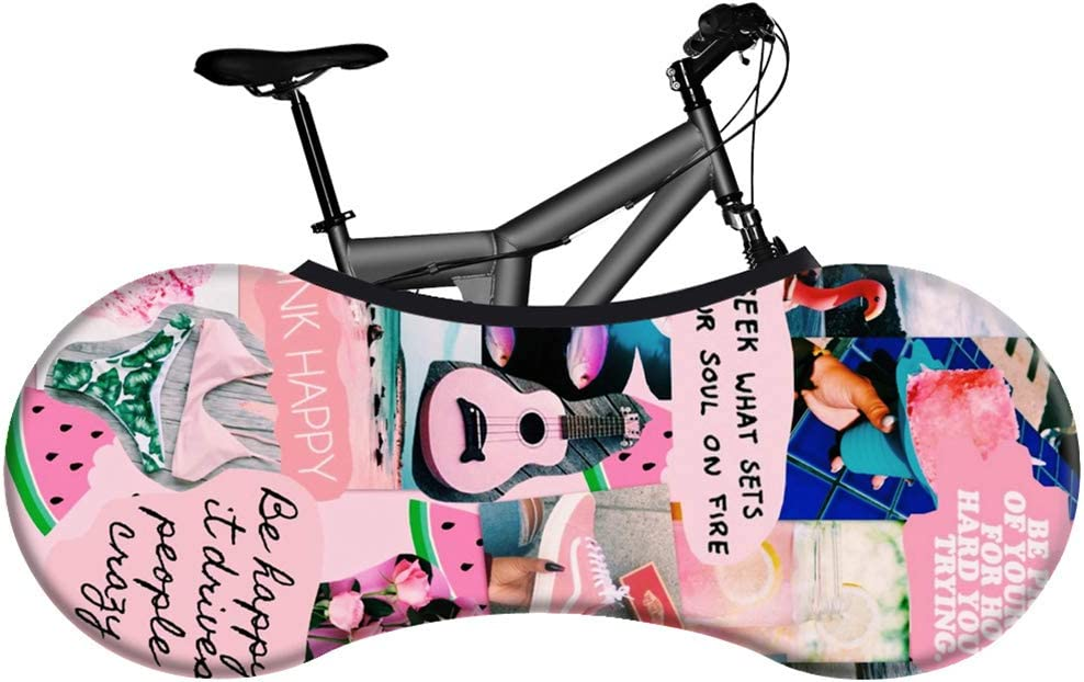 Q-YR Elastic Bike Storage Bag Indoor Scratch-Proof Bicycle Max 79% OFF Wheel San Jose Mall
