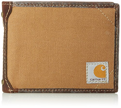 Carhartt Men's Billfold Wallet, Duck Brown, One Size