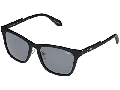 QUAY AUSTRALIA Reckless (Matte Black/Smoke) Fashion Sunglasses