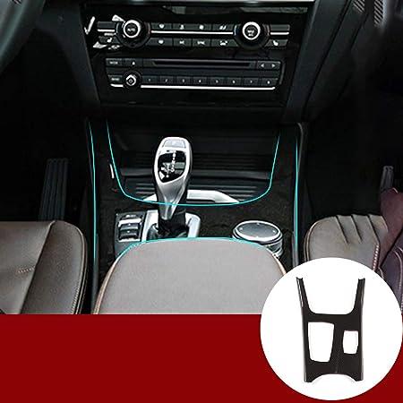 Carbon Fiber Style f/ür X3 G01 2018 Jahr Auto ABS Mittelkonsole Schalthebel Dekoration Panel Blende Zubeh/ör