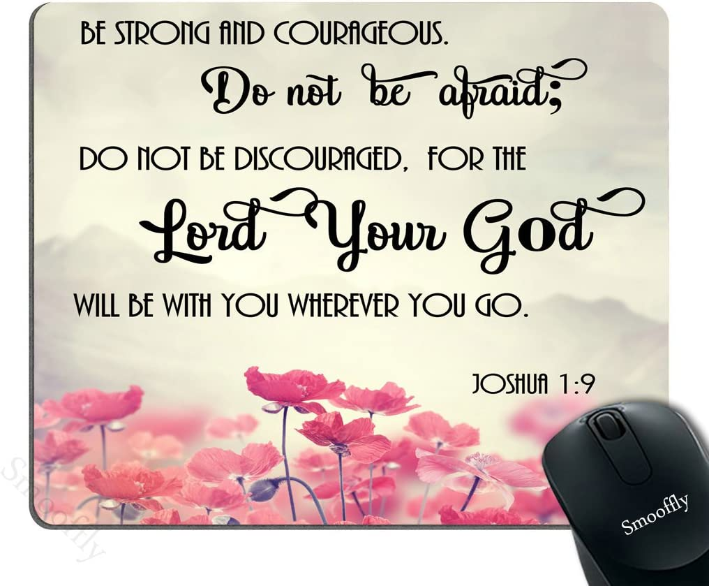 Smooffly Gaming Mouse Pad Cheap mail order specialty store Custom Christian Bible 2021 model Verses Scriptu